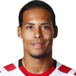 V. van Dijk, football player