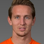 L. de Jong, football player