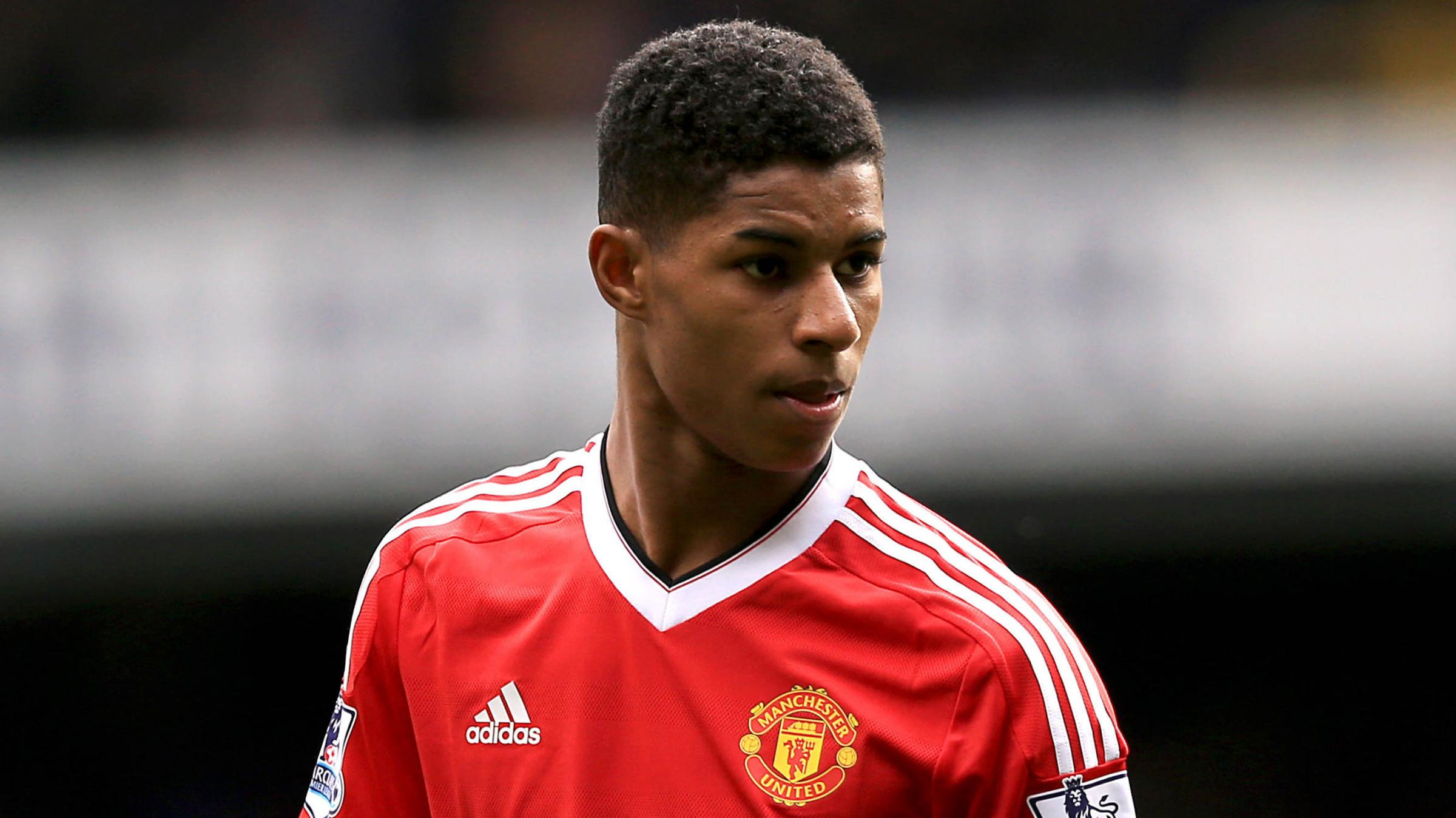 Marcus Rashford, football player