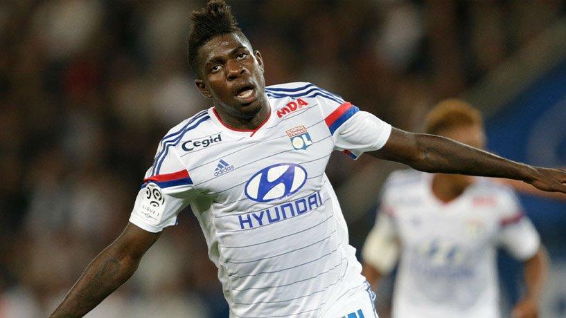 SamuelUmtiti playing at Lyon Football Club