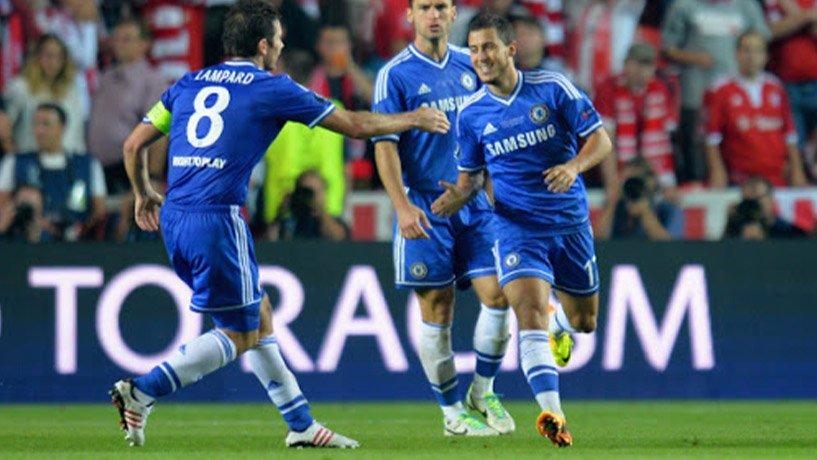 Eden Hazard Scored a goal
