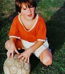 Lionel Messi at young age of 12.
