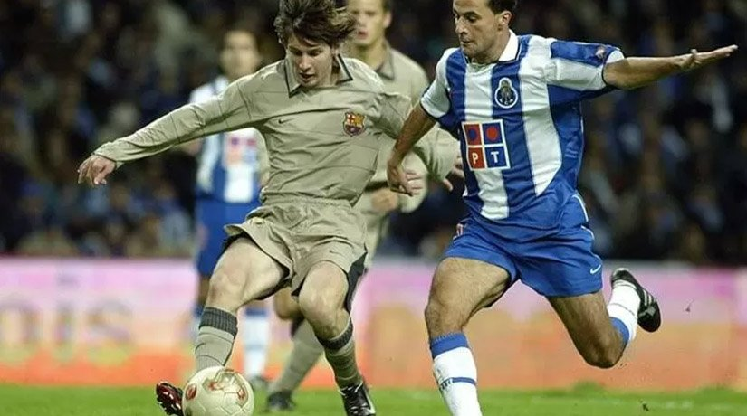 Messi's First Time Debut with Mourinho