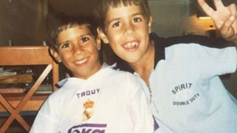Asensio and his elder brother Igor