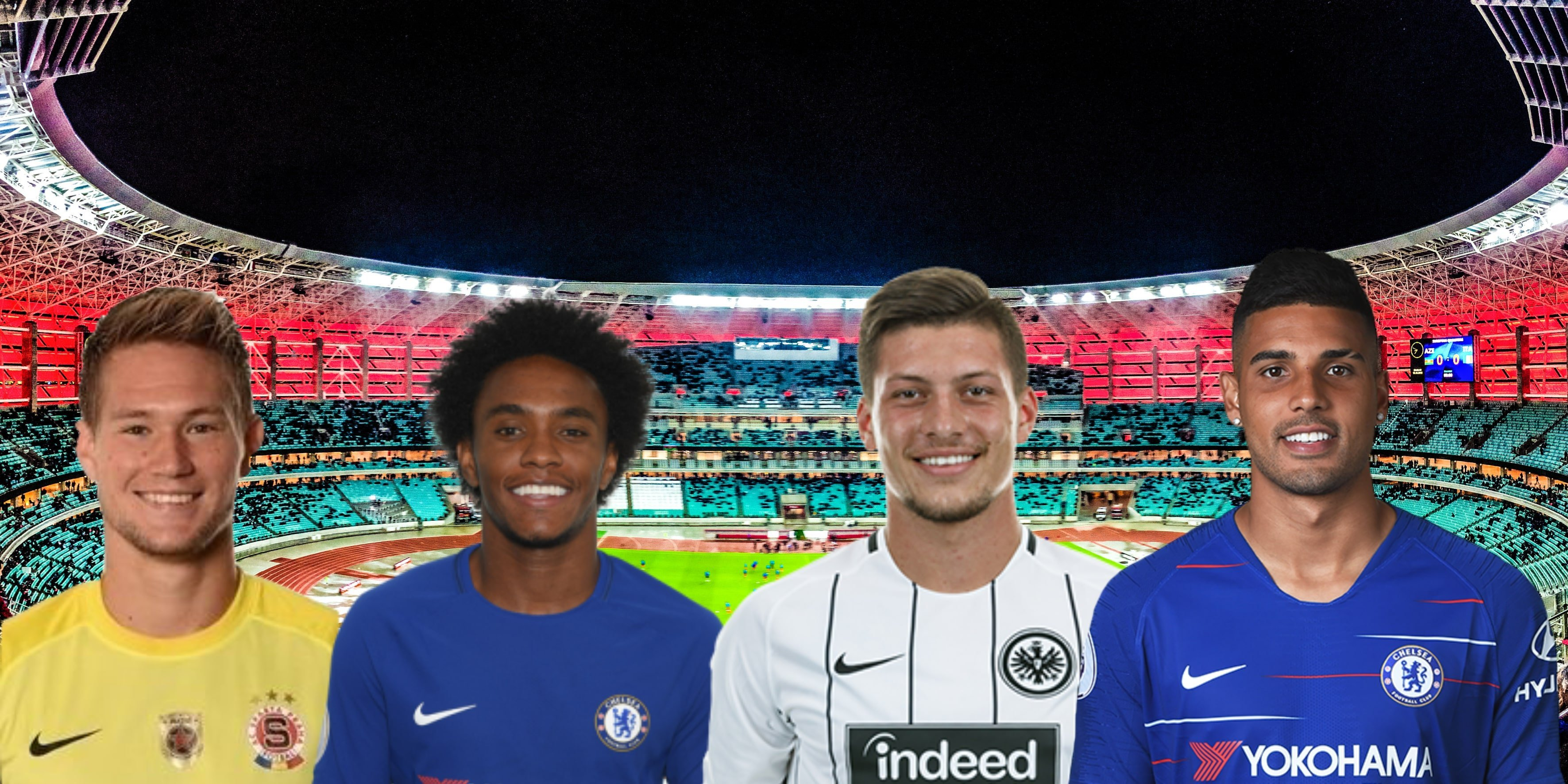 Europa League 18/19 Best Players of the Tournament