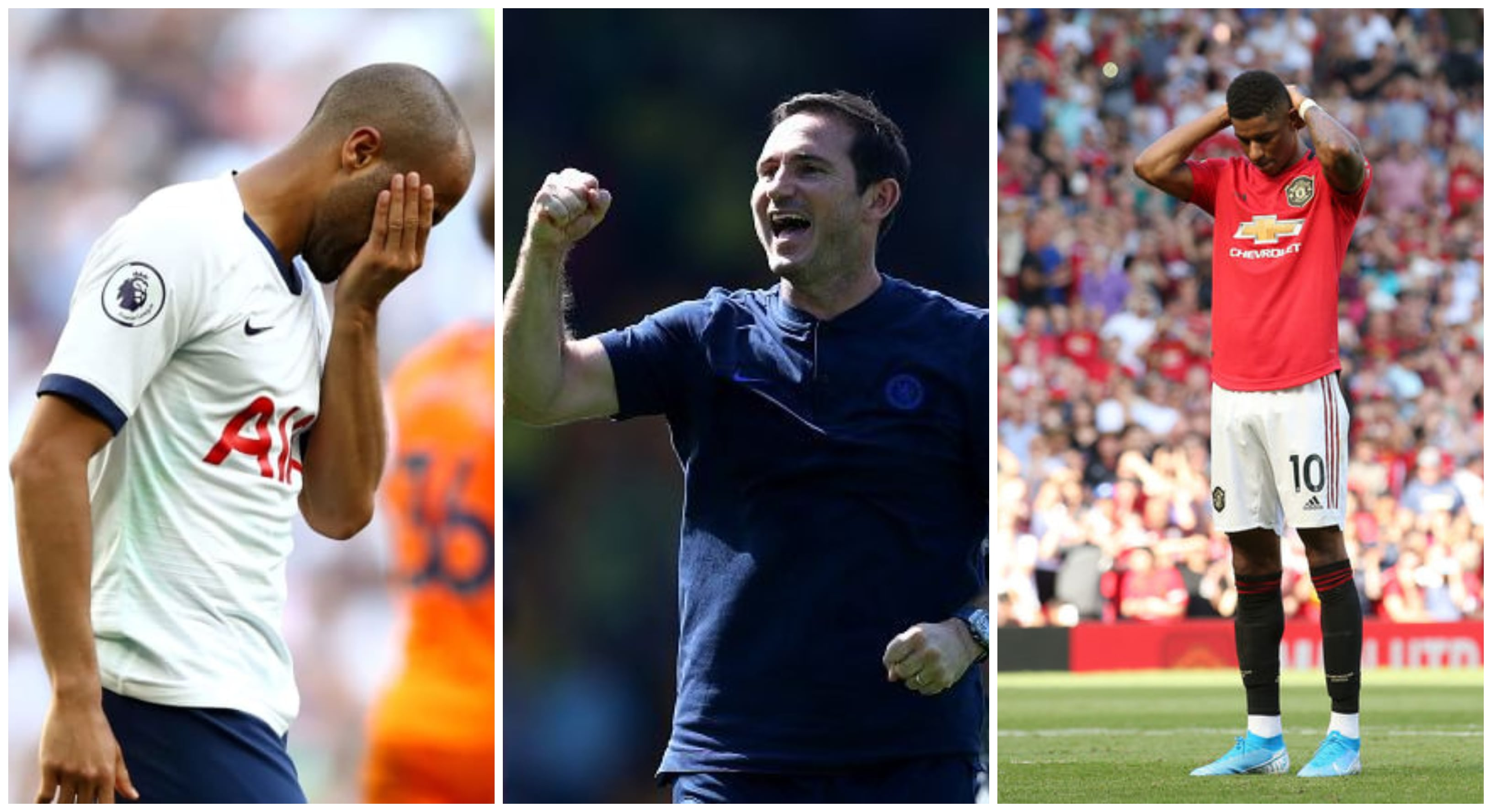 EPL 2019 Match Day Three Round Up – Lampard's First Success, Spurs and Man U Upset