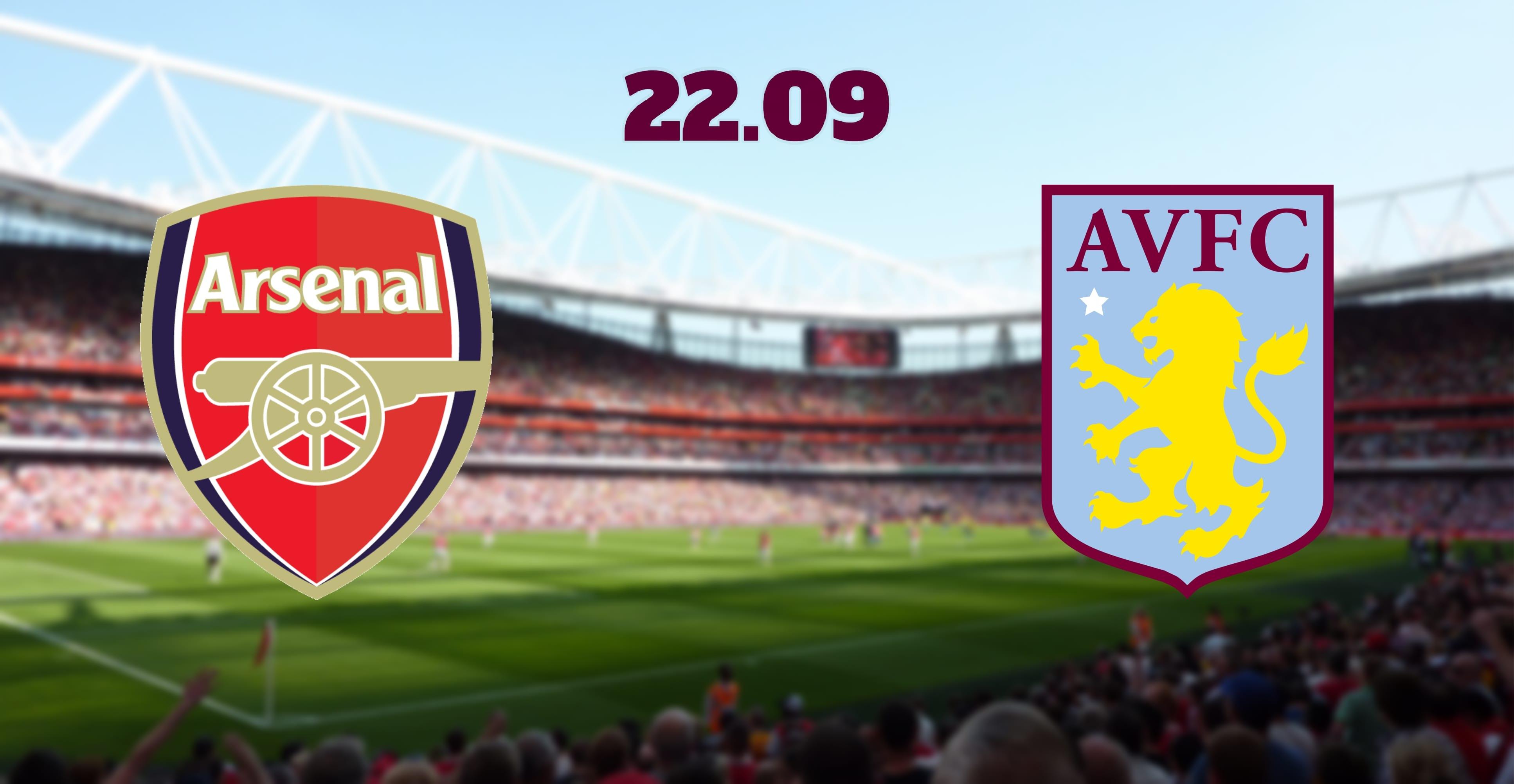 Arsenal vs Aston Villa Prediction, H2H and Betting Tip: 22.09.2019 EPL Match
