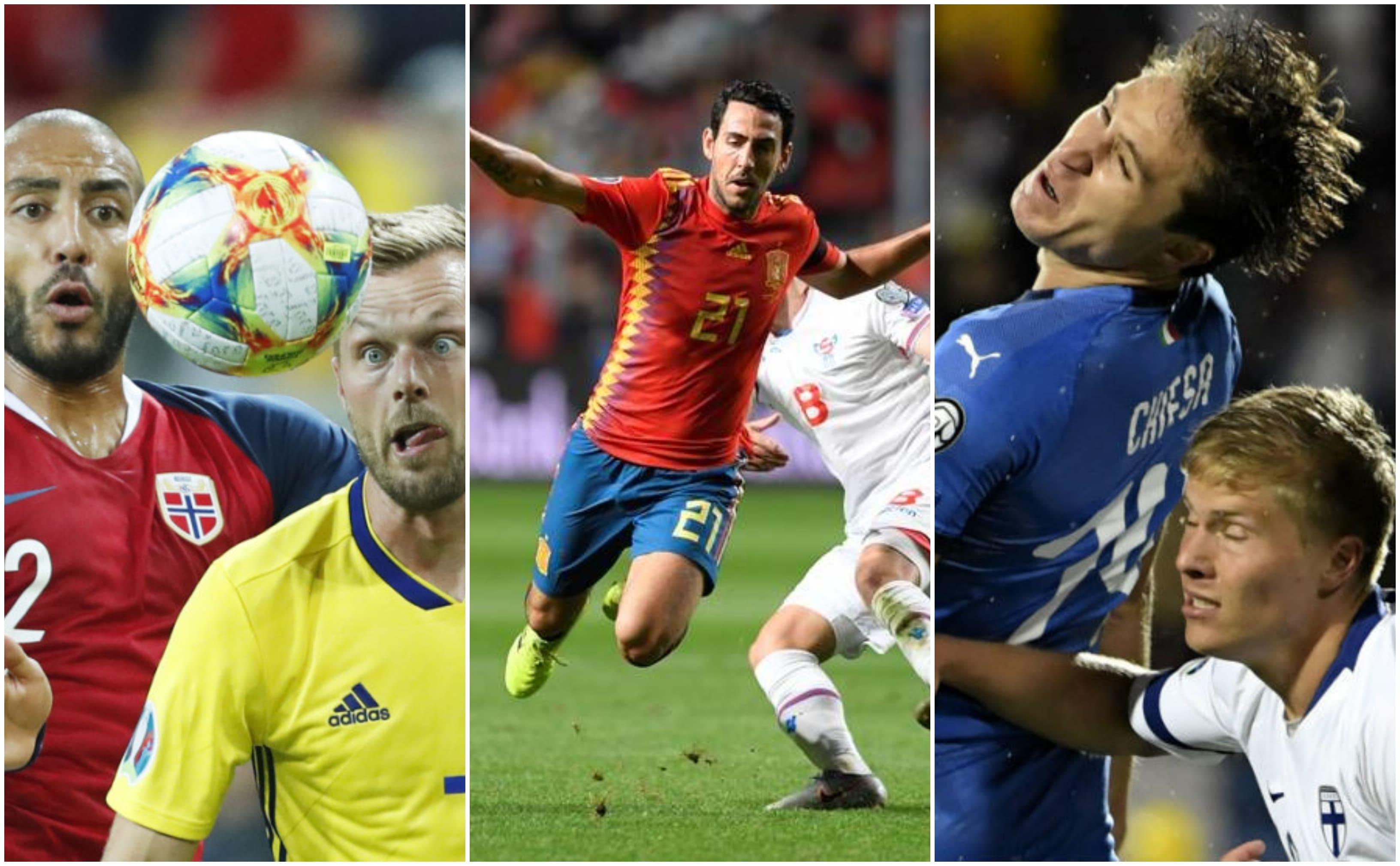 Euro 2020 Qualifyers Match Day 08.09.2019 Round Up