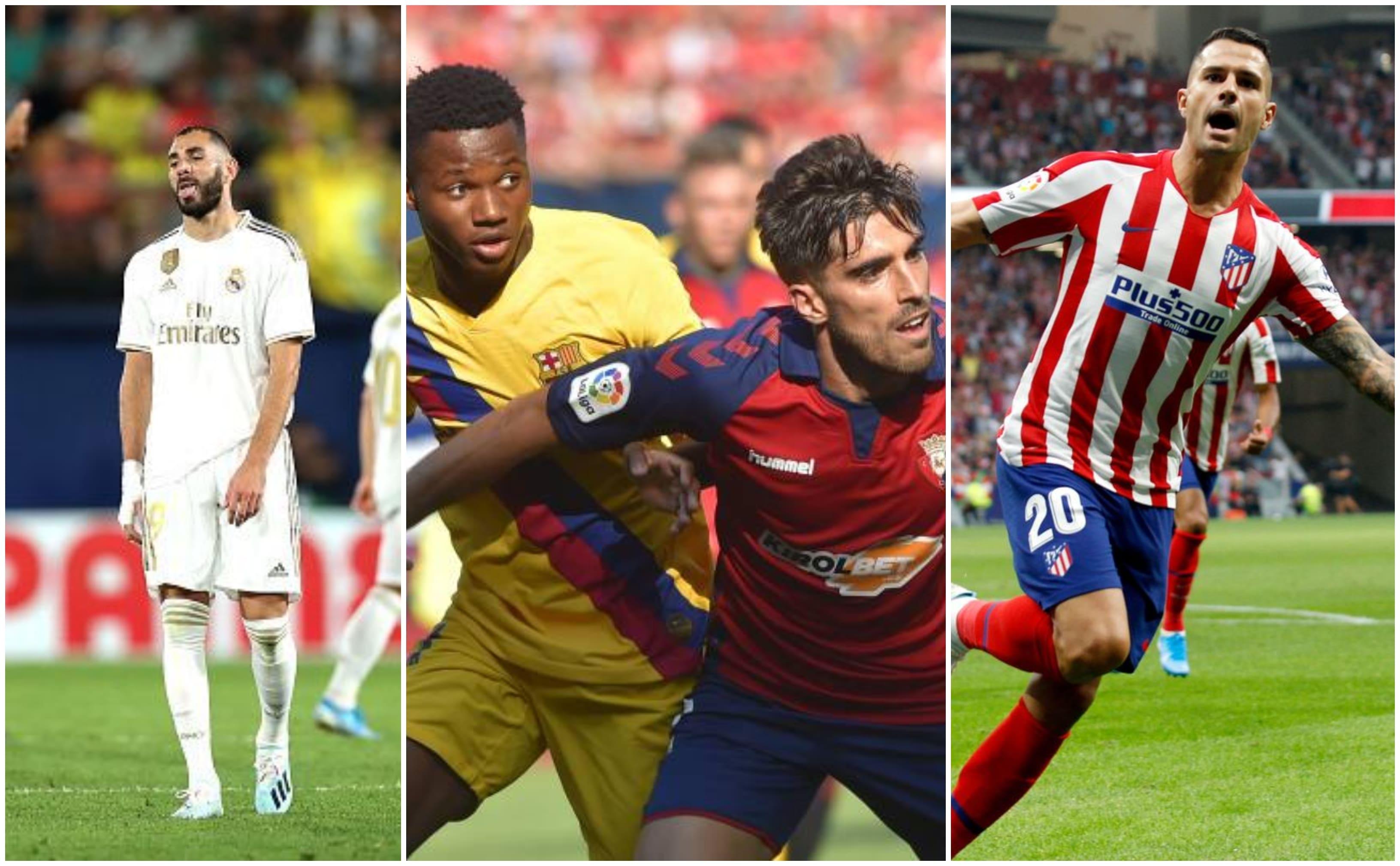 La Liga 2019/20 Matchday Three Round Up