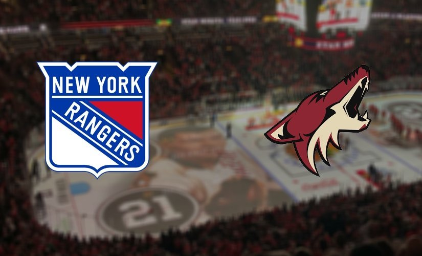 New York Rangers vs Arizona Coyotes Prediction NHL: (North America 22.10/ Europe 23.10)