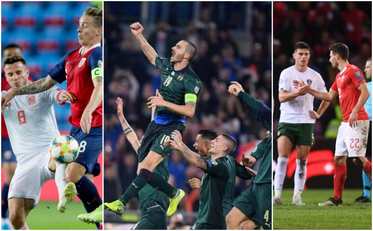 Euro 2020 Qualification 12.10.2019 Matchday Round Up