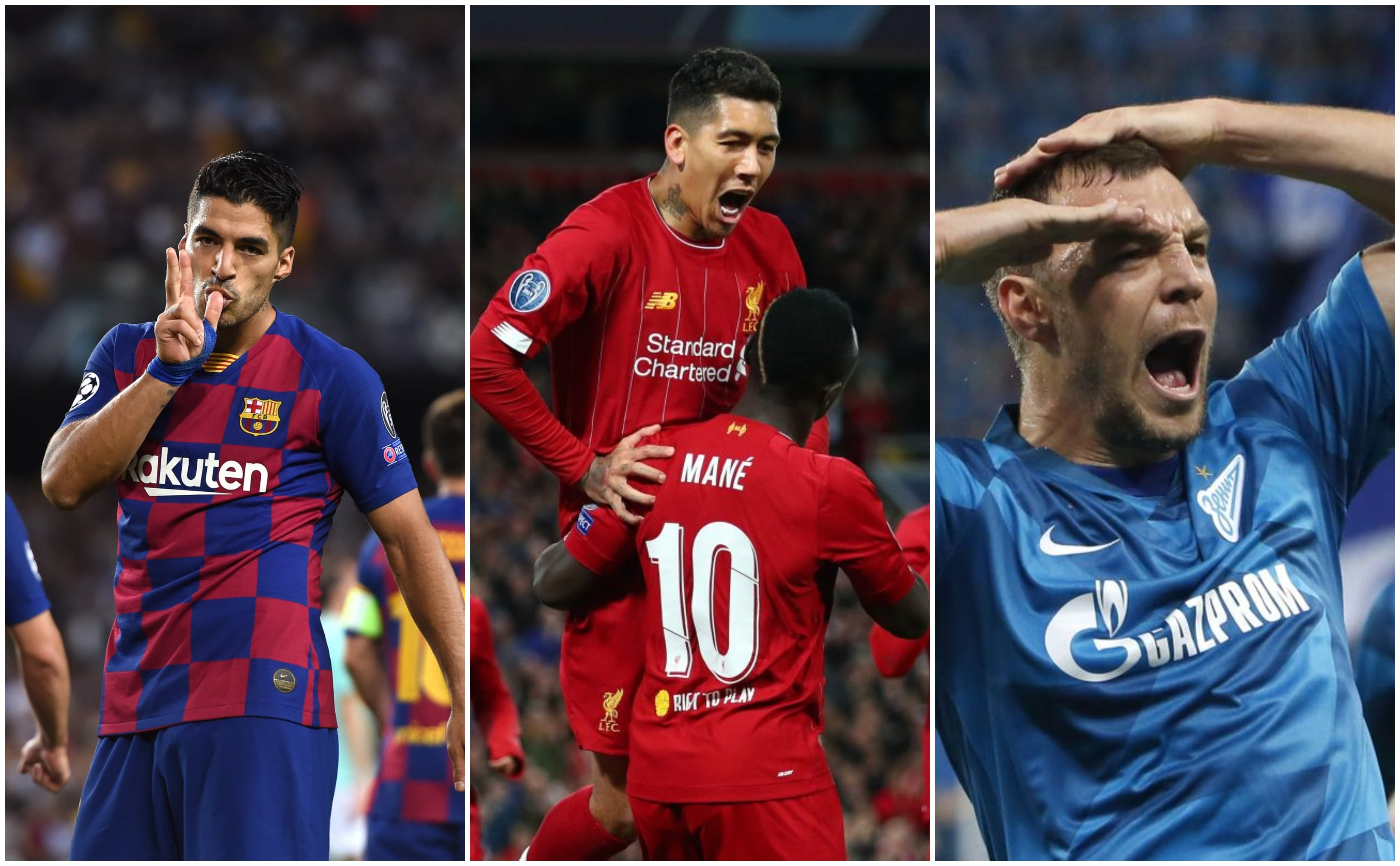 Champions League Round Up for Wednesday, 03.10.2019