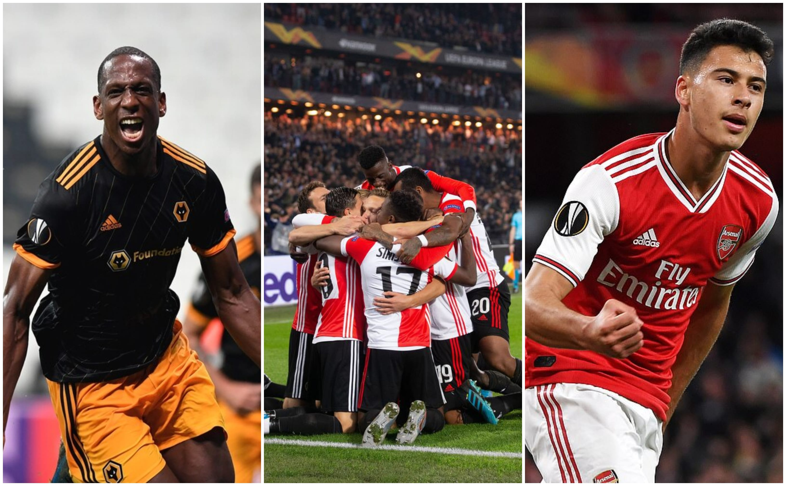 Europa League Round Up for 03.10.2019 – Wolves Keep Roaring, Feyenoord Surprise Win