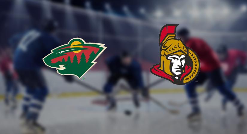 Minnesota Wild vs Ottawa Senators Prediction NHL: (North America 29.11/ Europe 30.11)
