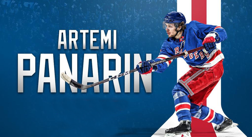 NHL: Artemy Panarin compared with the legendary Russian Rocket!