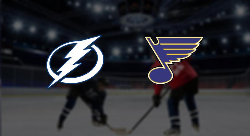 Tampa Bay Lightning – St. Louis Blues Prediction NHL: (27.11 North America, 28.11 Europe)