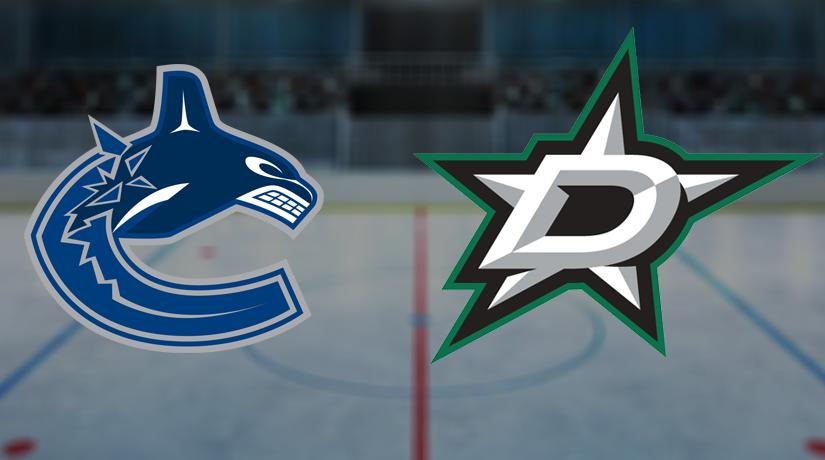 Vancouver Canucks vs Dallas Stars Prediction NHL: (North America 14.11/ Europe 15.11)