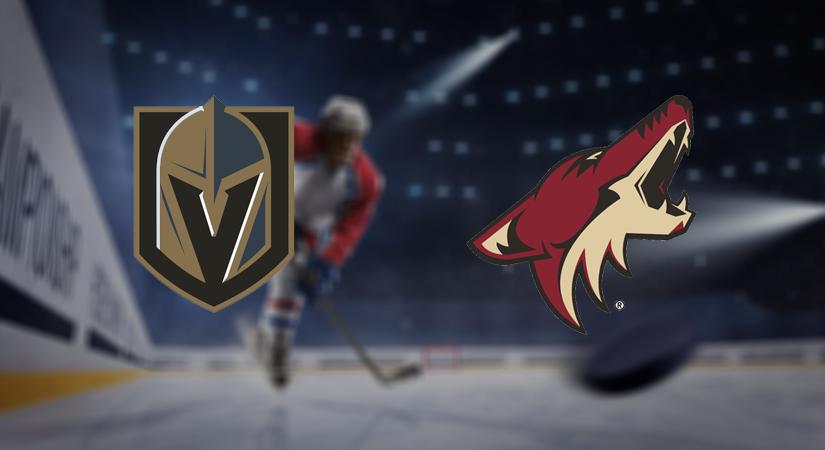 Vegas Golden Knights vs Arizona Coyotes Prediction NHL: (North America 29.11/ Europe 30.11)