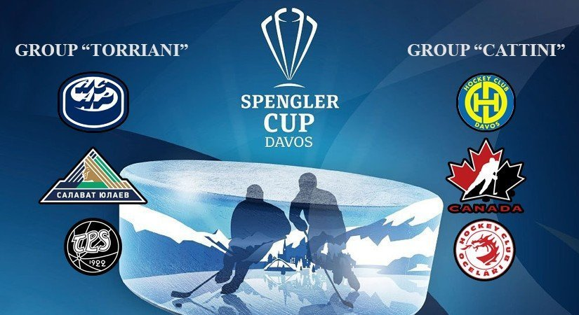 Let's take a closer look at Spengler Cup 2019 participants