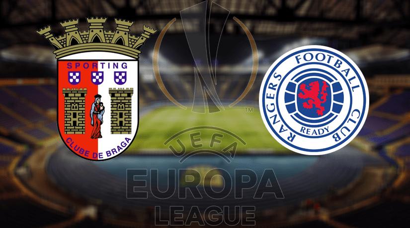 Braga vs Rangers FC Prediction: Europa League Match on 26.02.2020