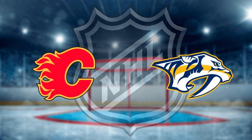 Calgary Flames vs Nashville Predators Prediction NHL: (North America 06.02/ Europe 07.02)