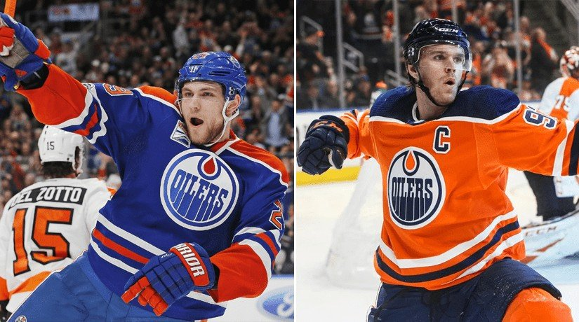 Connor McDavid and Leon Draisaitl repeat the achievement made by Mario Lemieux and Jaromir Jagr 23 years ago