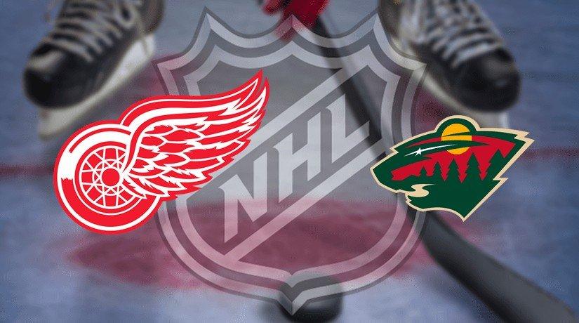 Detroit Red Wings vs Minnesota Wild Prediction NHL: (North America 27.02/ Europe 28.02)