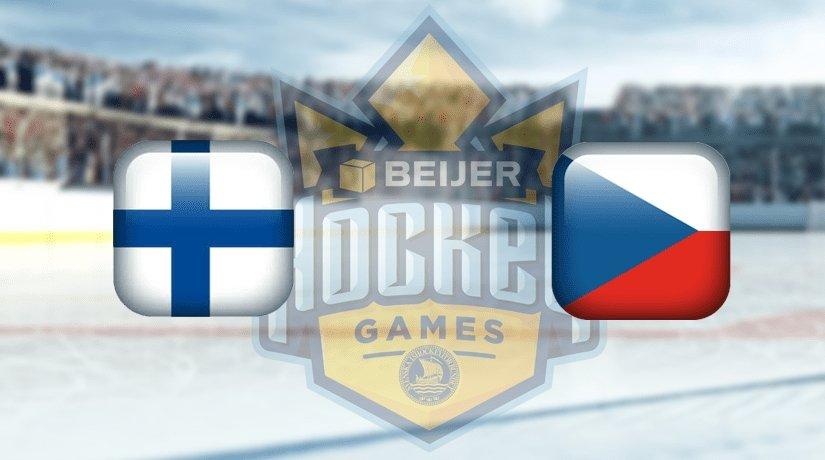 Finland vs Czech Prediction Beijer Hockey Games: 08.02