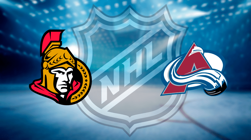 Ottawa Senators vs Colorado Avalanche Prediction NHL: (North America 06.02/ Europe 07.02)