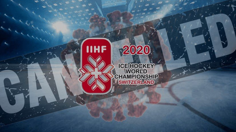 The International Ice Hockey Federation decided to cancel the World Championship in Switzerland.