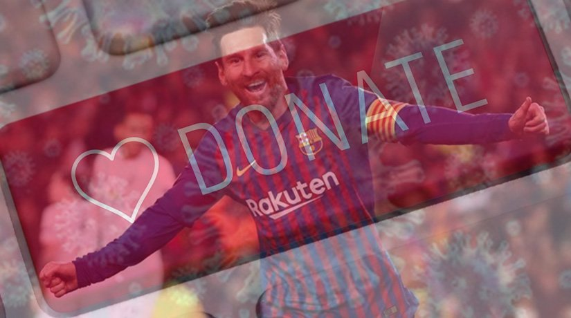 Barcelona's Lionel Messi has donated $1.2 million towards coronavirus relief