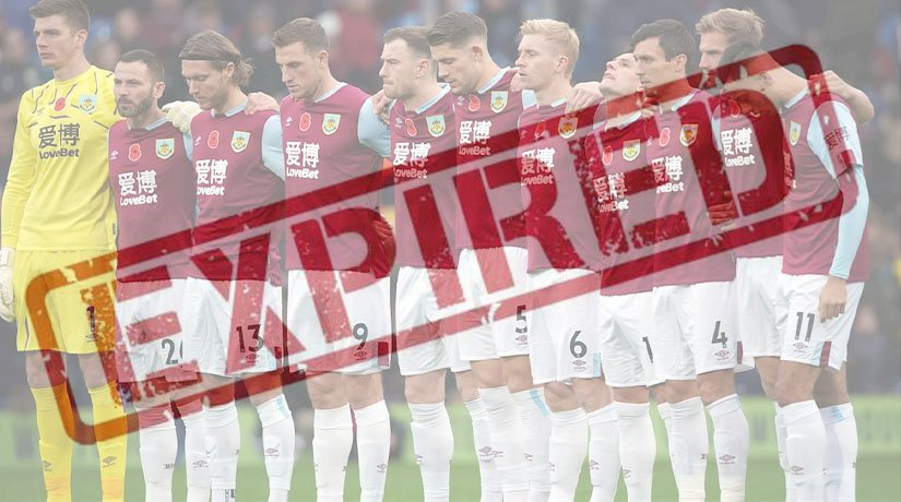 Some of The Burnley FC Players Have Contracts Expiring This Summer