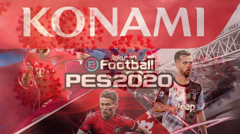Due to the Coronavirus Outbreak, Konami Postpones Euro 2020 Update for PES 2020