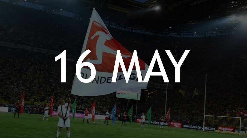 Germany's Bundesliga Cleared To Return On The 16th May