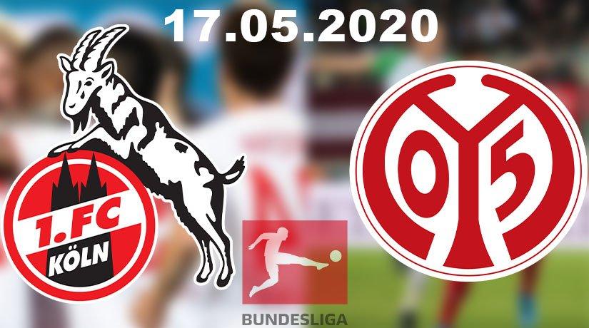 Köln vs Mainz Prediction: Bundesliga Match on 17.05.2020