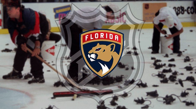 Florida Panthers fans used to throw rats on the ice until the NHL banned it. You can still buy rats in the arena, though