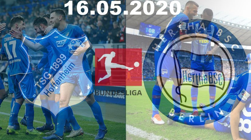 Hoffenheim vs Hertha Berlin Prediction: Bundesliga Match on 16.05.2020