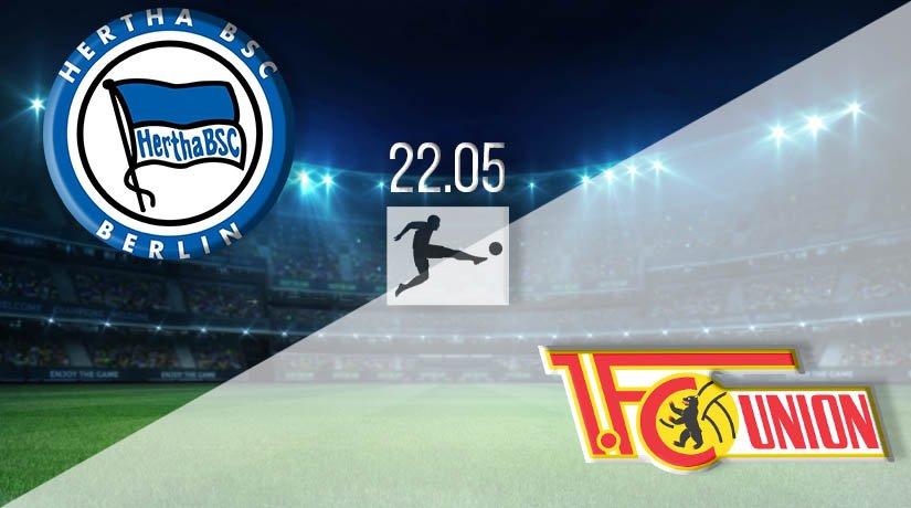 Hertha Berlin vs Union Berlin Prediction: Bundesliga Match on 22.05.2020