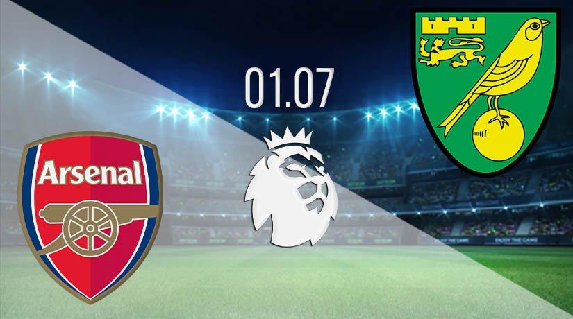 Arsenal vs Norwich City Prediction: Premier League Match on 01.07.2020