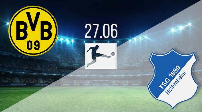 Borussia Dortmund vs Hoffenheim Prediction: Bundesliga Match on 27.06.2020