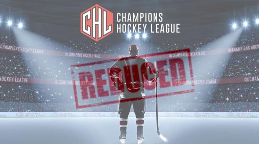 From 2023, the number of clubs in the Champions Hockey League will be reduced by a quarter