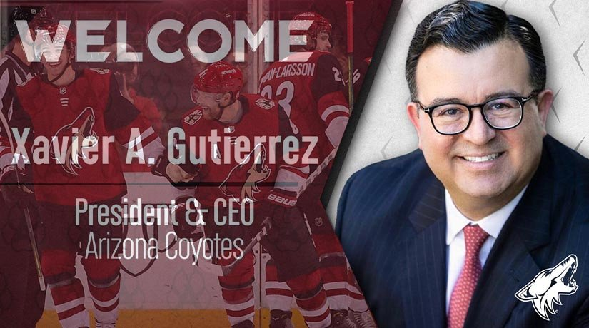 Xavier Gutierrez Becomes First Latin American CEO in NHL History