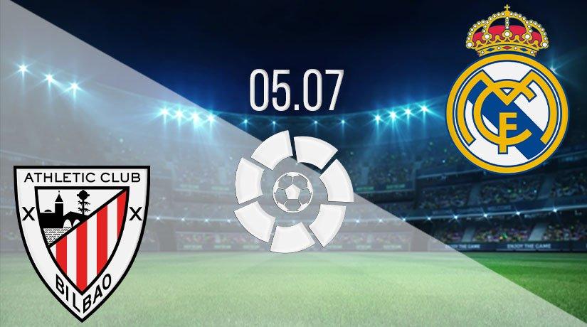 Athletic Bilbao vs Real Madrid Prediction: La Liga Match on 05.07.2020