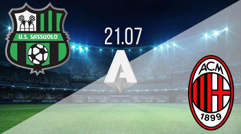 Sassuolo vs AC Milan Prediction: Serie A Match on 21.07.2020