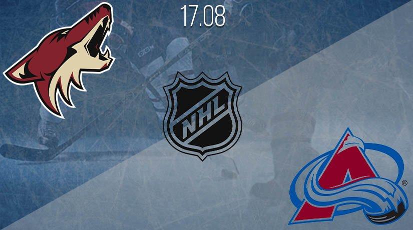 NHL Prediction: Arizona Coyotes vs Colorado Avalanche on 17.08.2020