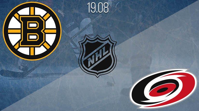 NHL Prediction: Boston Bruins vs Carolina Hurricanes on 19.08.2020