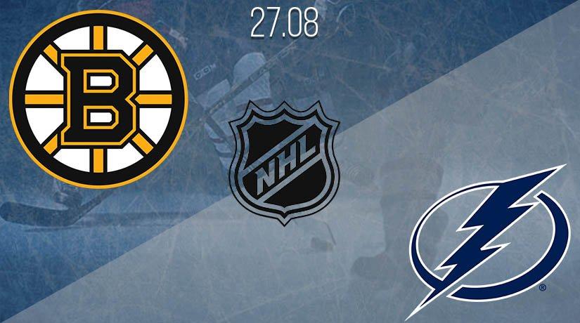NHL Prediction: Boston Bruins vs Tampa Bay Lightning on 27.08.2020