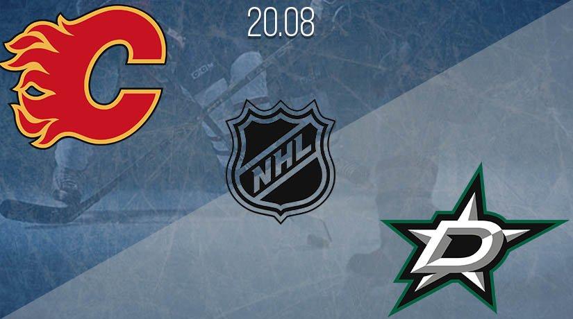 NHL Prediction: Calgary Flames vs Dallas Stars on 20.08.2020