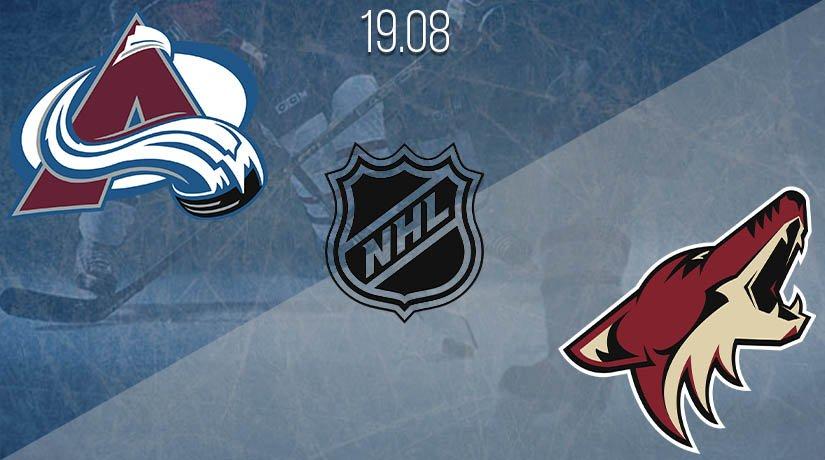 NHL Prediction: Colorado Avalanche vs Arizona Coyotes on 19.08.2020