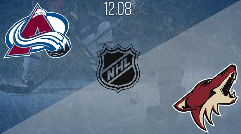 NHL Prediction: Colorado Avalanche vs Arizona Coyotes Match on 12.08